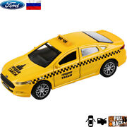 Diecast Vehicles Scale 136 Ford Mondeo Russian Taxi Model Car