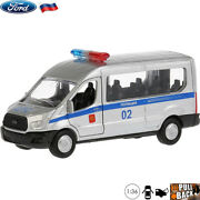Diecast Vehicles Scale 136 Ford Transit Russian Police Model Car