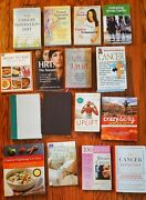 Cancer Natural Health Care Books Lot 16 Eating Well Nutrition Breast Cancer