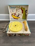 Beany And Cecil Record Player C. 1961 Vanity Fair 602 Bob Clampett Antique