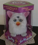 Super Rare Electronic Furby 1998 Original First Edition White Unopened