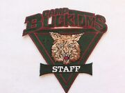 Camp Buck Toms 1998 Staff Pocket Patch 4 3/4 Inches Wide