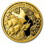 2020 Aus 1/4 Oz Gold Voyage Of Discovery Endeavour 1770-2020 - Sku209498