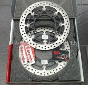320mm Brembo T-drive Front Brake Discs Yamaha Yzf R1 2015+, R1m - 208a98548