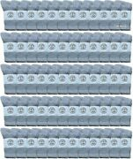 120 Pk Of Yacht And Smith Wholesale Kids Crew Socks, 6-8 Gray - Boys Ankle Sock
