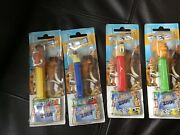 Set Of 4 Ice Age 2 Pez Sets Manfred Diego Scrat And Sid Brand New Sealed 2006