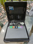 Wow Very Rare Apple Macintosh 180c Powerbook With Deluxe Leather Carrying Case