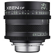 Samyang Xeen Cf 24mm T1.5 Lens For Canon Ef-mount Ship From Eu Authenti