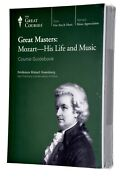 New Great Masters Mozart Life And Music Guidebook And 8-cd 8 X 45min Lectures Rare