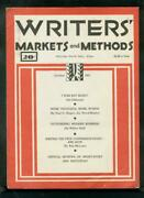 Writers' Markets And Methods October 1935 -  -vg/fn - Comic Book