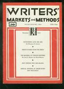Writers' Markets And Methods November 1935 -  -vg/fn - Comic Book