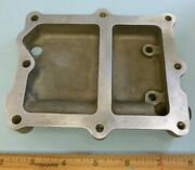 625016 Plate, Small Oil Cooler Adapter Ready To Install
