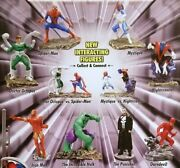 Marvel Full Set Of 8 Build-able Figures Tomy Gacha Toy Vending 2 Capsules 2006