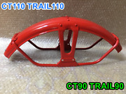Honda Ct110 Trail 110 Front Fender Monza Red 61100-102-701zd Fit Ct90 Trail90.