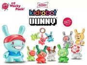 New Sonic Drive In Wacky Pack Kidrobot Dunny 2020 Limited Edition Complete Set