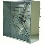 New Tpi 24 Cabinet Exhaust Fan With Shutters Cbt-24b 1/3 Hp 3270 Cfm 1 Ph