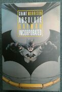 Absolute Batman Incorporated Graphic Novel Hardcover Dc Comics January 2015