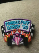 Girl Powder Puff Derby 2020 Race Track Fun Patches Crests Badges Scout Car