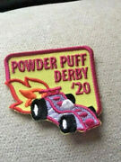 Girl Powder Puff Derby 2020 Race Track Fun Patches Crests Badges Scout Car 19