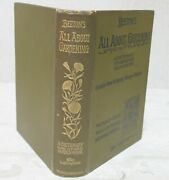 Beeton's All About Gardening A Dictionary Of Garden Work 1903 1st By Ward Lock