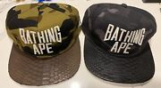 Bathing Ape Bape X Just Don X Rsvp Gallery Hat Cap Both Hats Impossible To Find