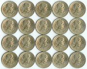 20 1979 P Susan B Anthony One Dollar Coins 1 Collectible Circulated Currency