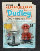Jay Ward Rocky And Bullwinkle 1970 Steven's Jumping Dudley Do Right Moc