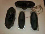 Gm Delco 4 Car Speaker System New Two 4 Ohm 4 X 10 Two 32 Ohm 3 X 8