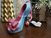 Disney Parks Shoe Ornament Cinderella Fairy Godmother Discontinued New