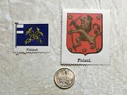 Wwi 1916-s Finland 50p Pennia Silver Coin Xf -unc Coat Of Arms And Flag 1930's Lot