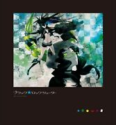 Black Rock Shooter Blu-ray Box Limited Edition Attachment Figma F/s Japan Used