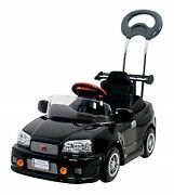 Oshide With Pedal-type Skyline Gt-r R34 Ride-on Car Toy Japan New