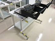 Universal Instruments Feeder Bank Change Storage Table With Removable Banks