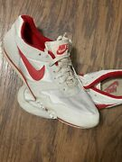 Vtg 1987 Nike Track Field Running Shoes Sz 9.5 Made In Rep Of Korea Vintage