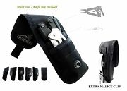 2 Pockets Gerber Knife And Multitool Pouch / Sheath Fit For Mp800 Mp60006 Auto