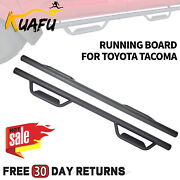 Double/crew Cab 3 Running Board Nerf Bar Hoop Side Step For 05-21 Toyota Tacoma