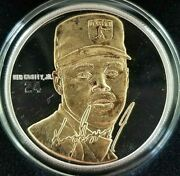 Ken Griffey Jr. Signature Series Highland Mint Fine Silver And Gold Coin Coa Card