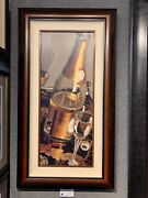Thomas Arvid In The Glow Giclee On Canvas Framed Free Shipping