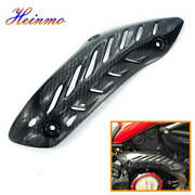 Motorcycle Exhaust Cover Heat Shield Guard For Ducati Monster 821/1200/1200s