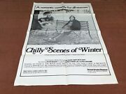 1982 Chilly Scenes Of Winter Original Movie House Full Sheet Poster