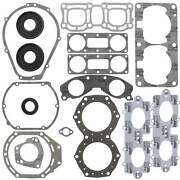 Vertex Complete Gasket Kit With Oil Seals For Yamaha Xl760 Wave Runner 1998-1999
