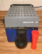 Vintage Belita Ii Manual And Automatic Coin Counter Sorter Made In Italy Tested