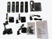 Panasonic Kx-tg155sk Cordless Phone With Answering System, Gray, 5 Handsets G