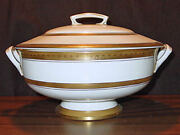 Rare Discontinued Royal Worcester Coronet Covered Soup Tureen New