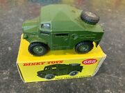 Dinky Toys 688 Field Artillery Tractor Military Boxed Plastic Hubs
