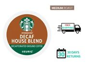 Starbucks House Blend Decaf Keurig Coffee K-cups You Pick The Size