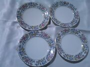 Meito Norleans Grayson Bread And Butter Plates 81/2 Occupied Japan