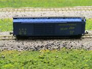 N Scale- Atlas 2332 Louisville And Nashville 50and039 Double Door Boxcar Landn 7424 N1446