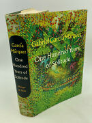 Gabriel Garcia Marquez One Hundred Years Of Solitude 1st Am Ed 1st Printing