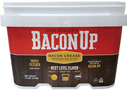 Bacon Up Bacon Grease Rendered Bacon Fat For Frying Cooking Baking 1 Gallon
